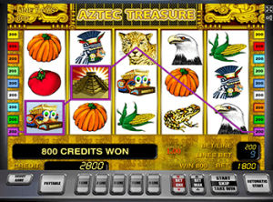Игровые аппараты Вулкан Aztec Treasure онлайн в казино